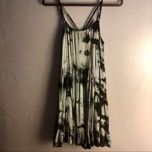 Tie Dye O'Neil Dress